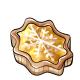 Lemon Snowflake Tart