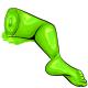 Lime Gummy Leg