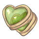 Lime Heart Cookies