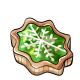 Lime Snowflake Tart