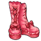Frilly Boots