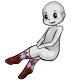 Long Pink Blue Argyle Socks
