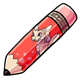 Lorius Jumbo Pencil