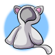 Short Cat Hoodie