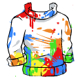 Splatter Top