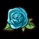 Tiny Blue Rose
