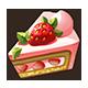 Slice of Deluxe Strawberry Shortcake