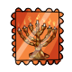 Menorah Stamp