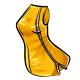 Metallic Zipper Dress