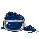Navy Blue Eye Makeup Powder