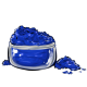Cobalt Blue Eye Makeup Powder