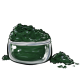 Deep Green Blue Eye Makeup Powder