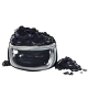 Deep Charcoal Eye Makeup Powder
