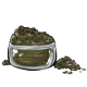 Olive Green Eye Makeup Powder
