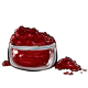 Deep Maroon Eye Makeup Powder