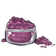 Plum Eye Makeup Powder