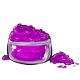 Neon Berry Eye Makeup Powder