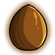 Milk Chocolate Glowing Egg