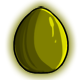 Olive Glowing Egg