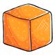 Orange Sugar Cube