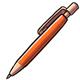 Orange Mechanical Pencil