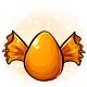 Orange Candy Glowing Egg