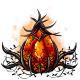 Cursed Pumpkin Glowing Egg