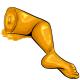 Orange Gummy Leg