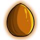 Orange Chocolate Glowing Egg