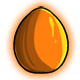Orange Glowing Egg