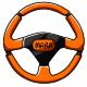 Orange Steering Wheel