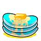 Aqua Butter Pancakes