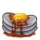 Grey Syrup Pancakes