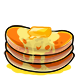 Orange Butter Pancakes