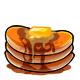 Orange Syrup Pancakes