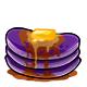 Purple Syrup Pancakes