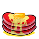 Red Butter Pancakes