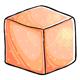 Peach Sugar Cube