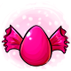 Pink Candy Glowing Egg