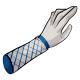 Fishnet Arm Warmers