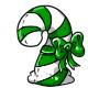 Green Candycane Plushie