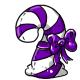 Purple Candycane Plushie