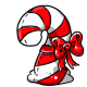 Red Candycane Plushie