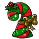 Seasonal Candycane Plushie
