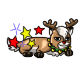 Enchanted Blitzen Chibs Plushie