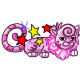 Enchanted Cotton Candy Chibs Plushie