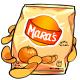 Orange Potato Chips