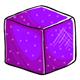 Purple Sugar Cube