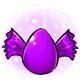 Purple Candy Glowing Egg