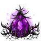Cursed Purple Glowing Egg